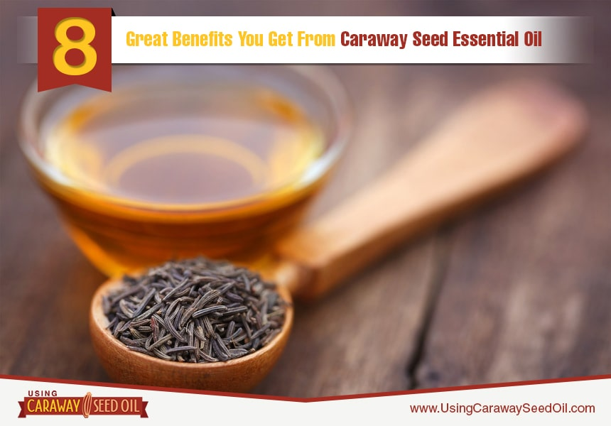 caraway  essential oil for the skin